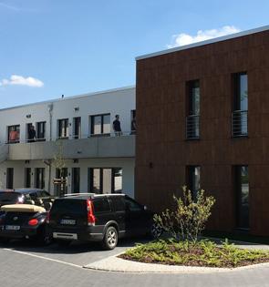 Das Büro der WindPlan Witthohn + Frauen GmbH & Co. KG von außen