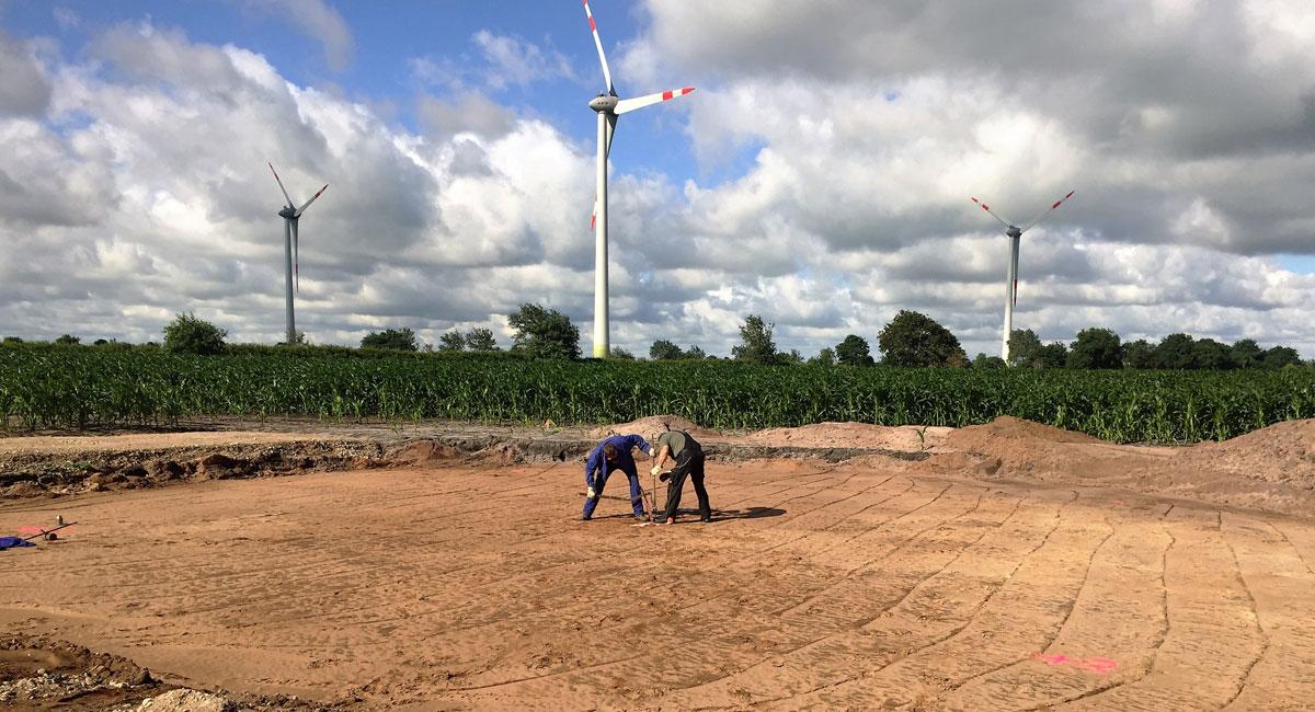 WindPlan GmbH Windpark Alt Bennebek - Baustelle Teaser