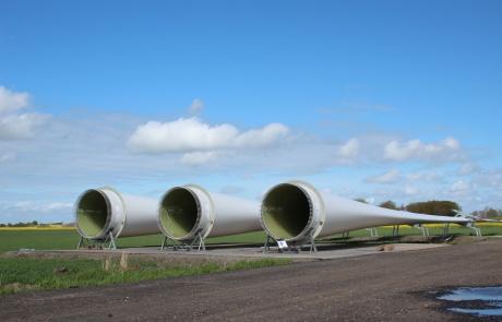 WindPlan GmbH Bürgerwindpark Stelle-Wittenwurth - Bauphase