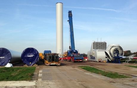 WindPlan GmbH Bürgerwindpark Wrohm-Osterrade - Bauphase