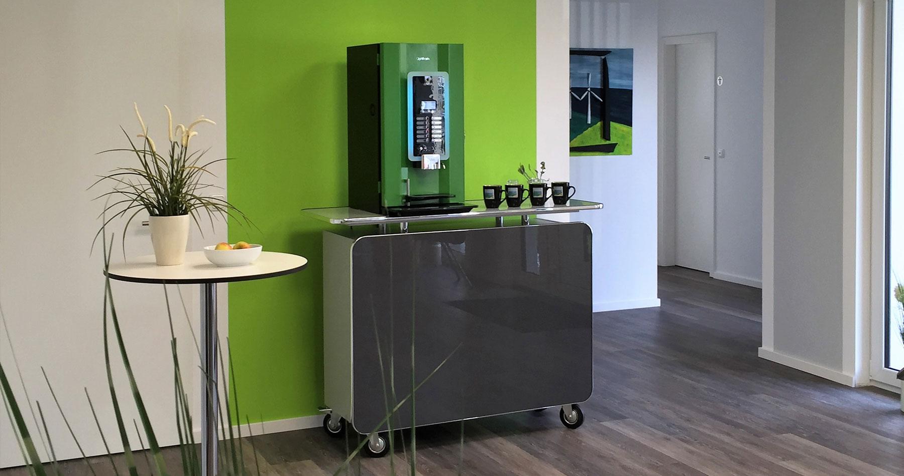 Kaffee-Ecke WindPlan GmbH Heide